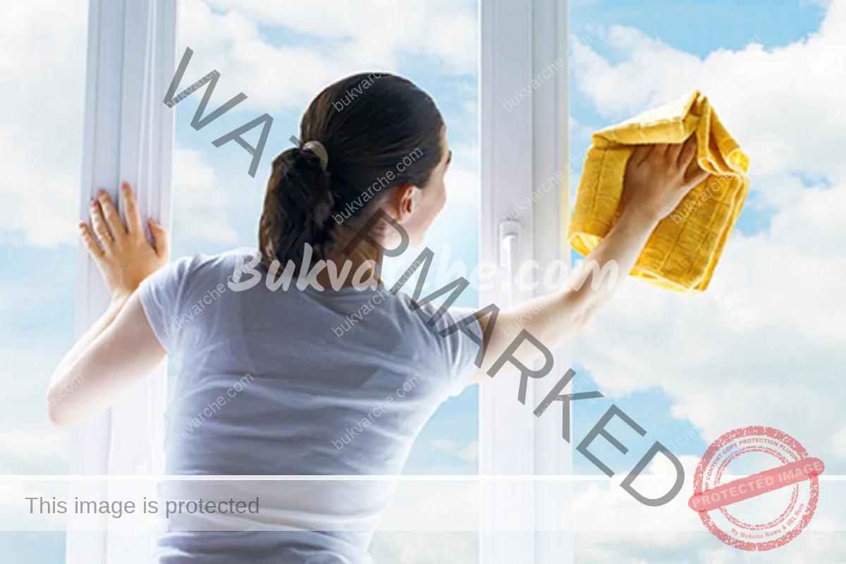 Трик за чисти прозорци и стъкла. Пригответе следния разтвор!