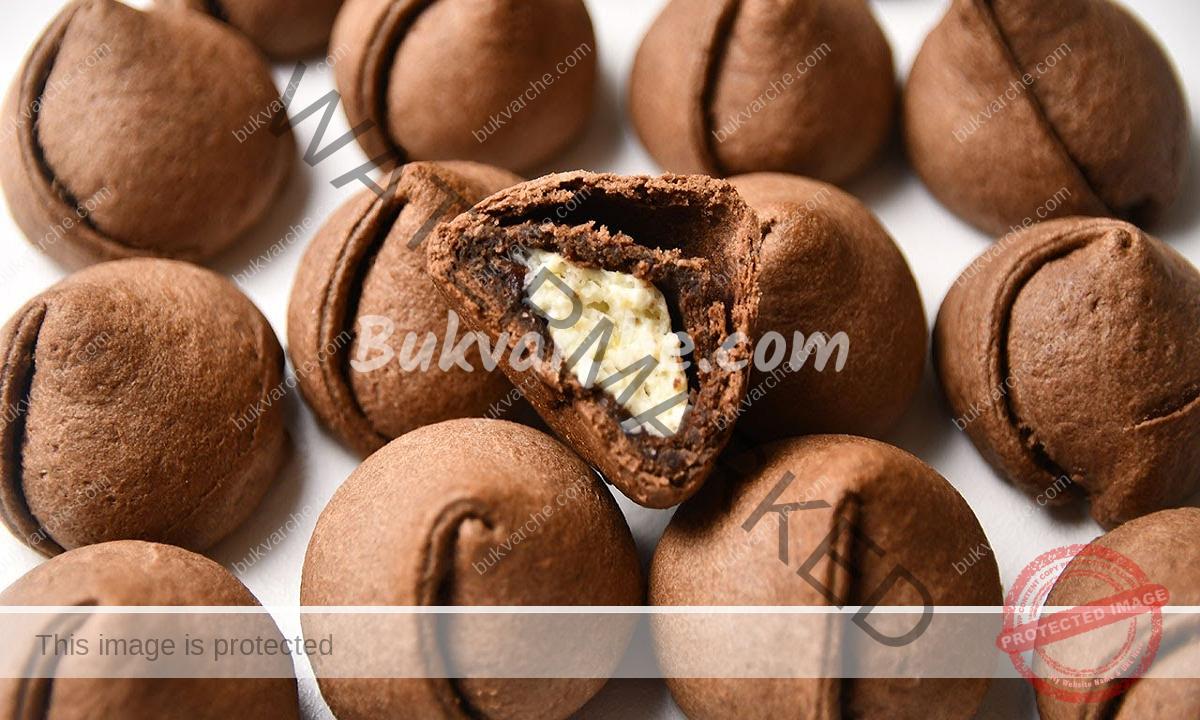 Шоколадови сладки лалета с крема сирене - лесни и вкусни