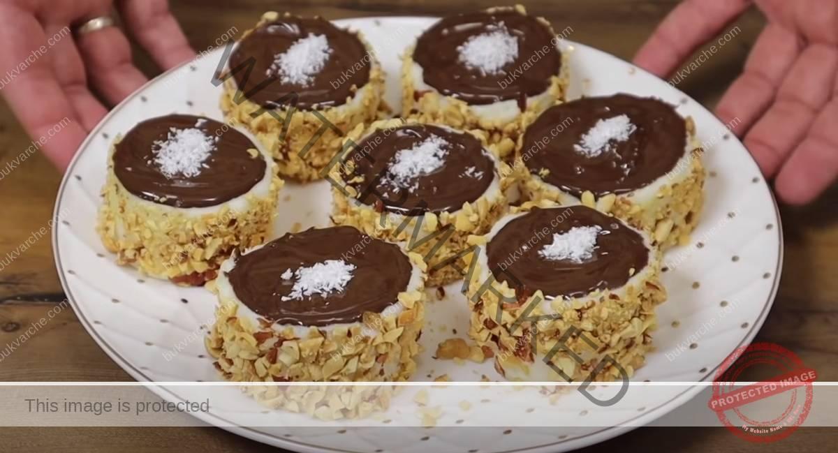 Млечен пудинг с шоколадова глазура - нежен десерт