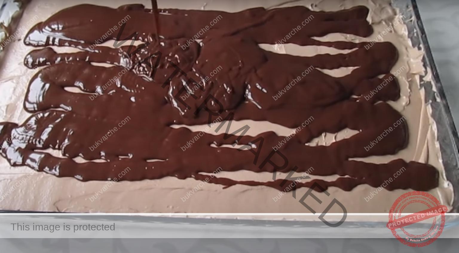 Шоколадов десерт за празник