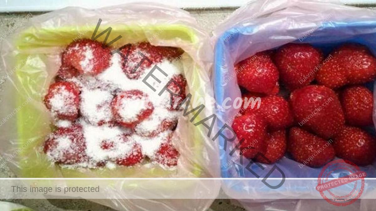 Как да замразите ягодите за зимата, така че да запазят вкуса си?