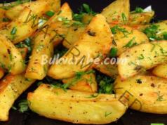 Картофи с лимонов сок и зехтин - идеалната гарнитура