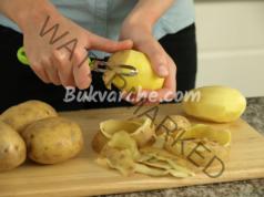 Не изхвърляйте картофените обелки в кошчето! Полезен трик