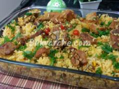 Ориз по селски: сочно ястие, което се приготвя лесно и бързо