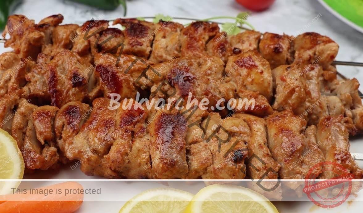 Пилешки шишчета на тиган - лесна и бърза рецепта