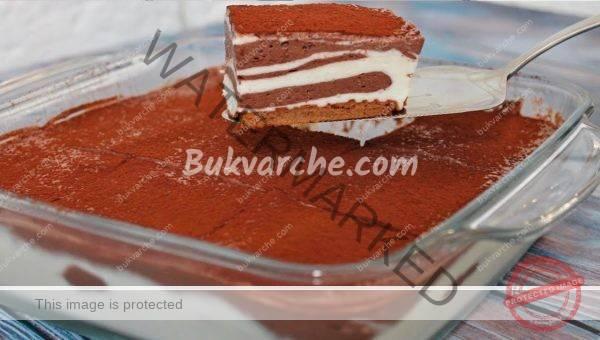 Сметанова домашна торта без печене – лек и сочен десерт