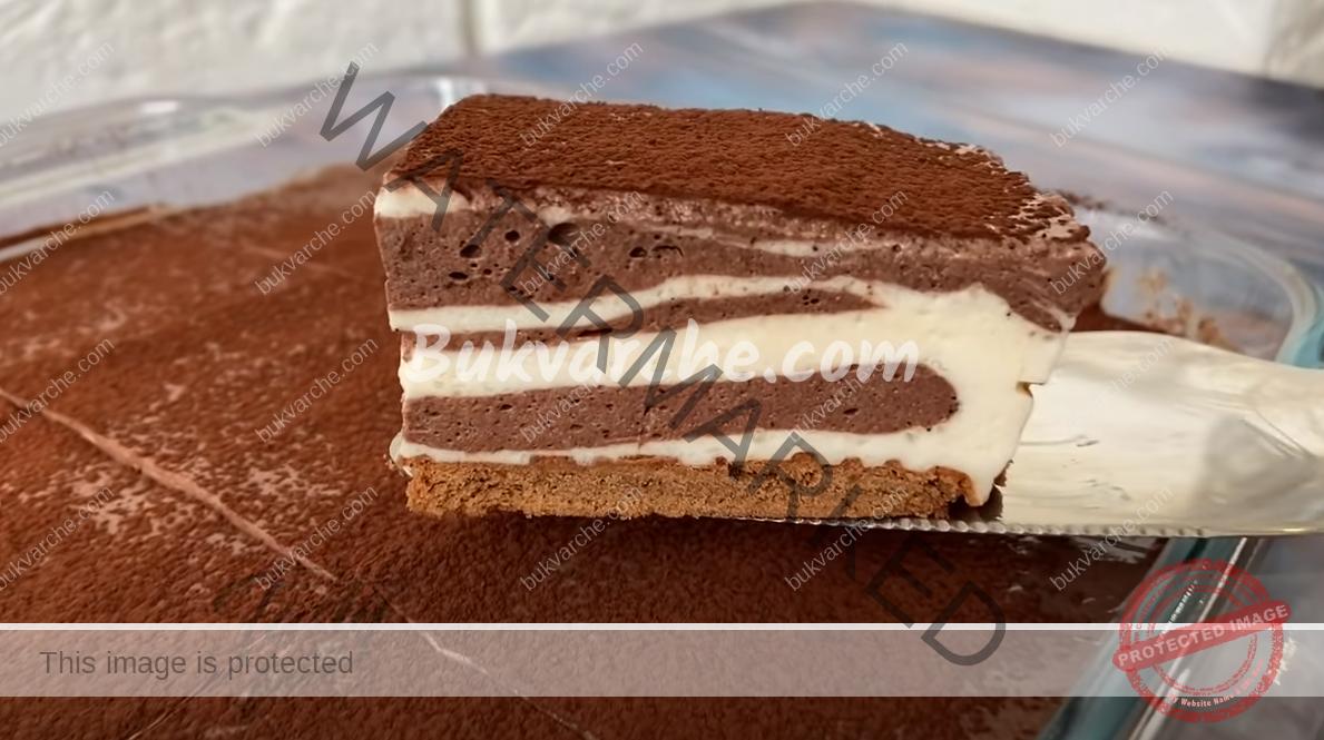 Сметанова домашна торта без печене - лек и сочен десерт