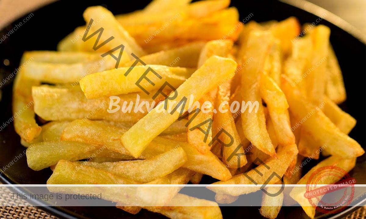Хрупкави пържени картофи - трик на професионалните готвачи