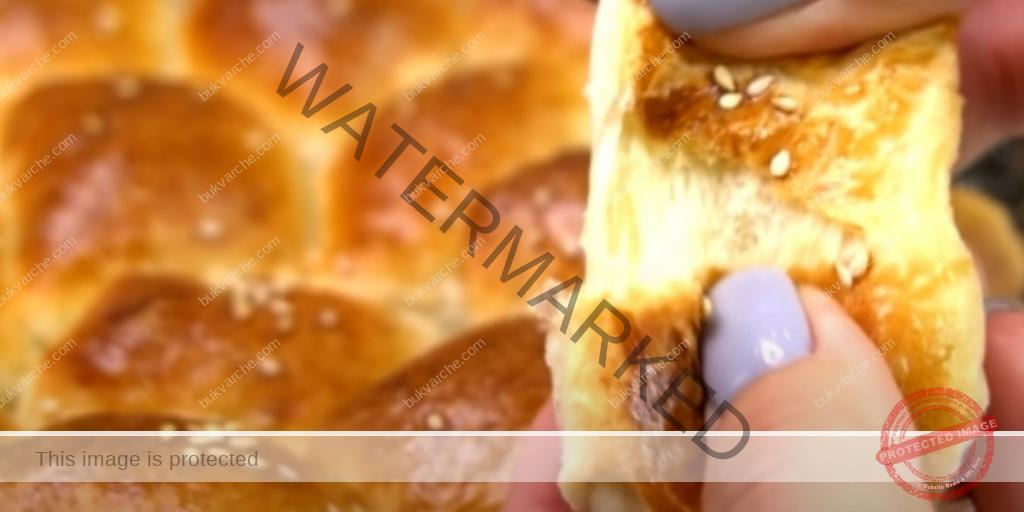 Домашна питка с кашкавал и колбас - лесно и вкусно