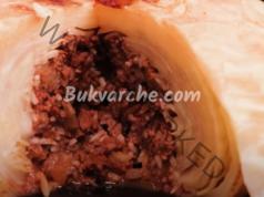 Зелка с кайма на фурна - сочно и много вкусно ястие