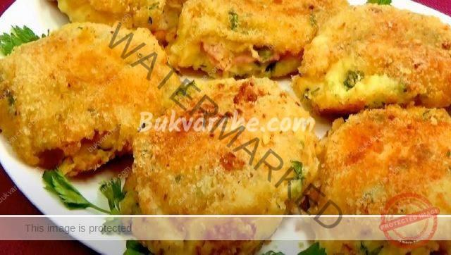 Картофени кюфтета с шунка и кашкавал - сочни и вкусни