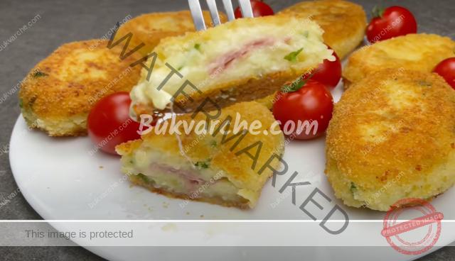 Картофени топки с шунка и кашкавал - лесно и вкусно