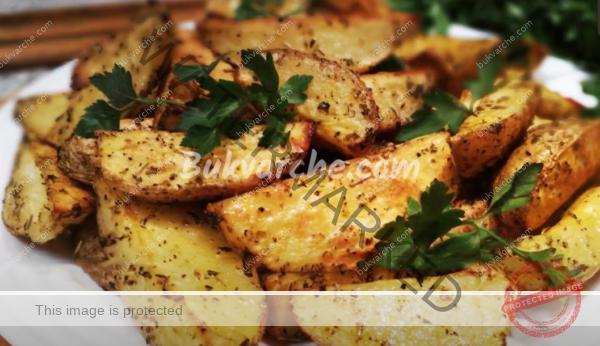Картофи с хрупкава коричка на фурна – перфектната рецепта