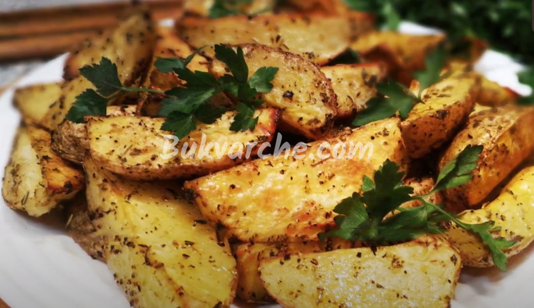 Картофи с хрупкава коричка на фурна - перфектната рецепта