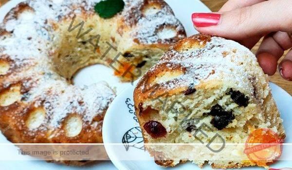 Кекс с кисело мляко – пухкаво лакомство за чая или кафето
