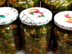 Консервиране на зеленчуци за зимата без варене