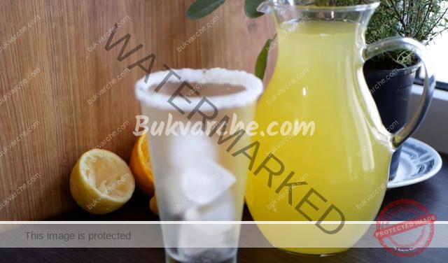 Лимонада по турски - освежаваща напитка за летните дни