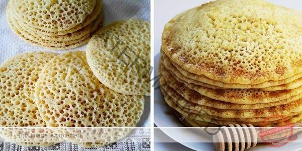 Марокански палачинки с грис – просто се топят в устата