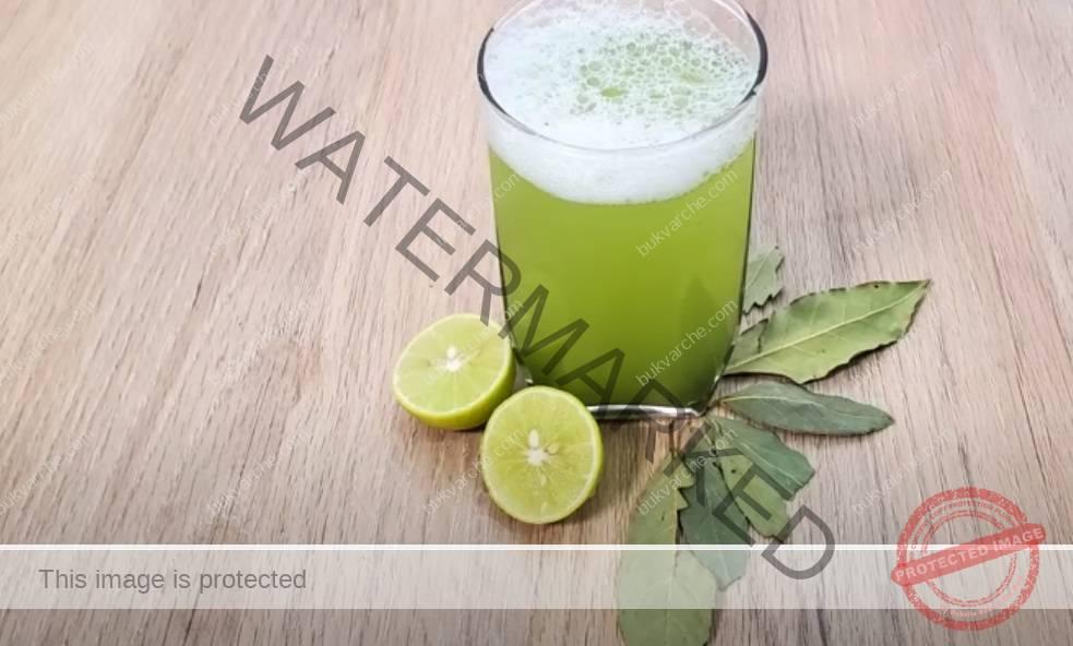 Напитка с дафинов лист и лимонов сок за отслабване