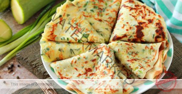 Палачинки от тиквички и зелен лук – идеални за закуска
