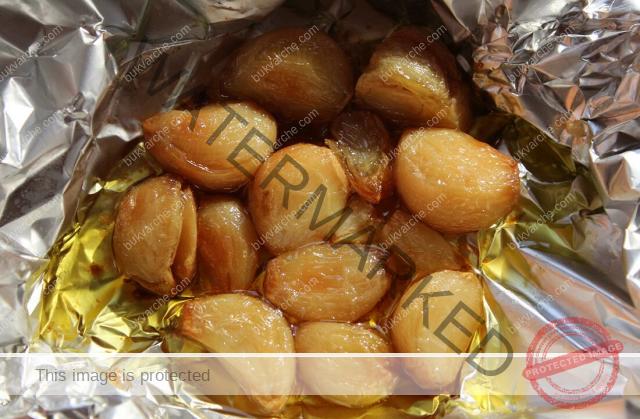 Печени скилидки чесън за намаляване на лошия холестерол