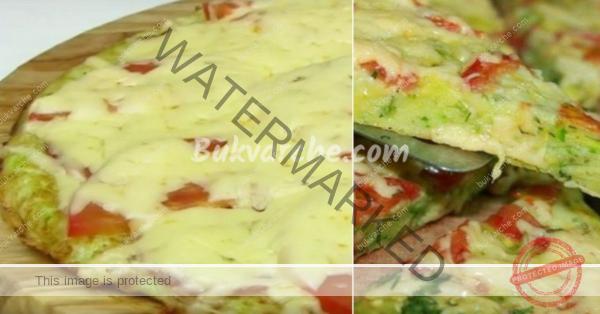 Пица от тиквички на тиган – засищащо и леко лятно ястие