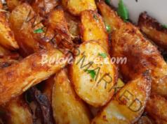Рецепта за пресни картофи - ароматни и хрупкави