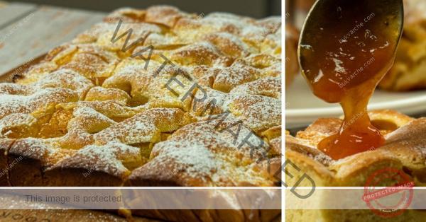 Сладкиш с рикота и праскови – нежен и пухкав десерт