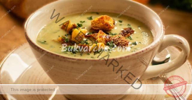 Чеснова крем супа с домашни крутони - ненадминат вкус