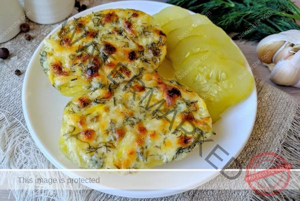 Чеснови картофи с кашкавал на фурна – любима рецепта