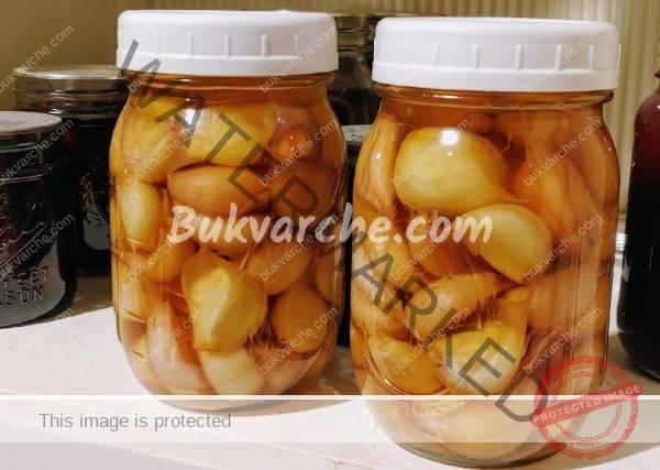 Чесън с мед за укрепване и детоксикиране на организма