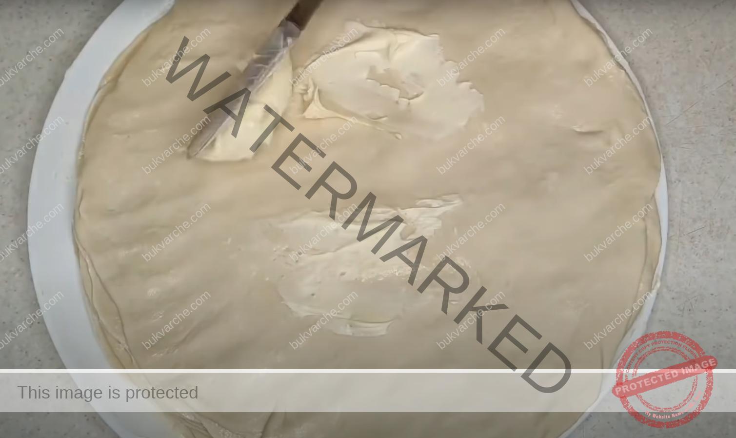 Рецепта за бутер тесто, която е много лесна и успешна