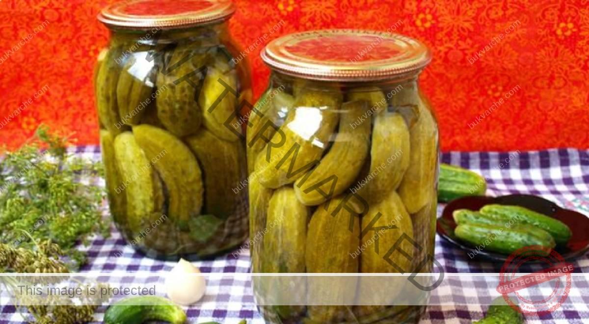 Рецепта за мариновани краставички - хрупкави и много вкусни