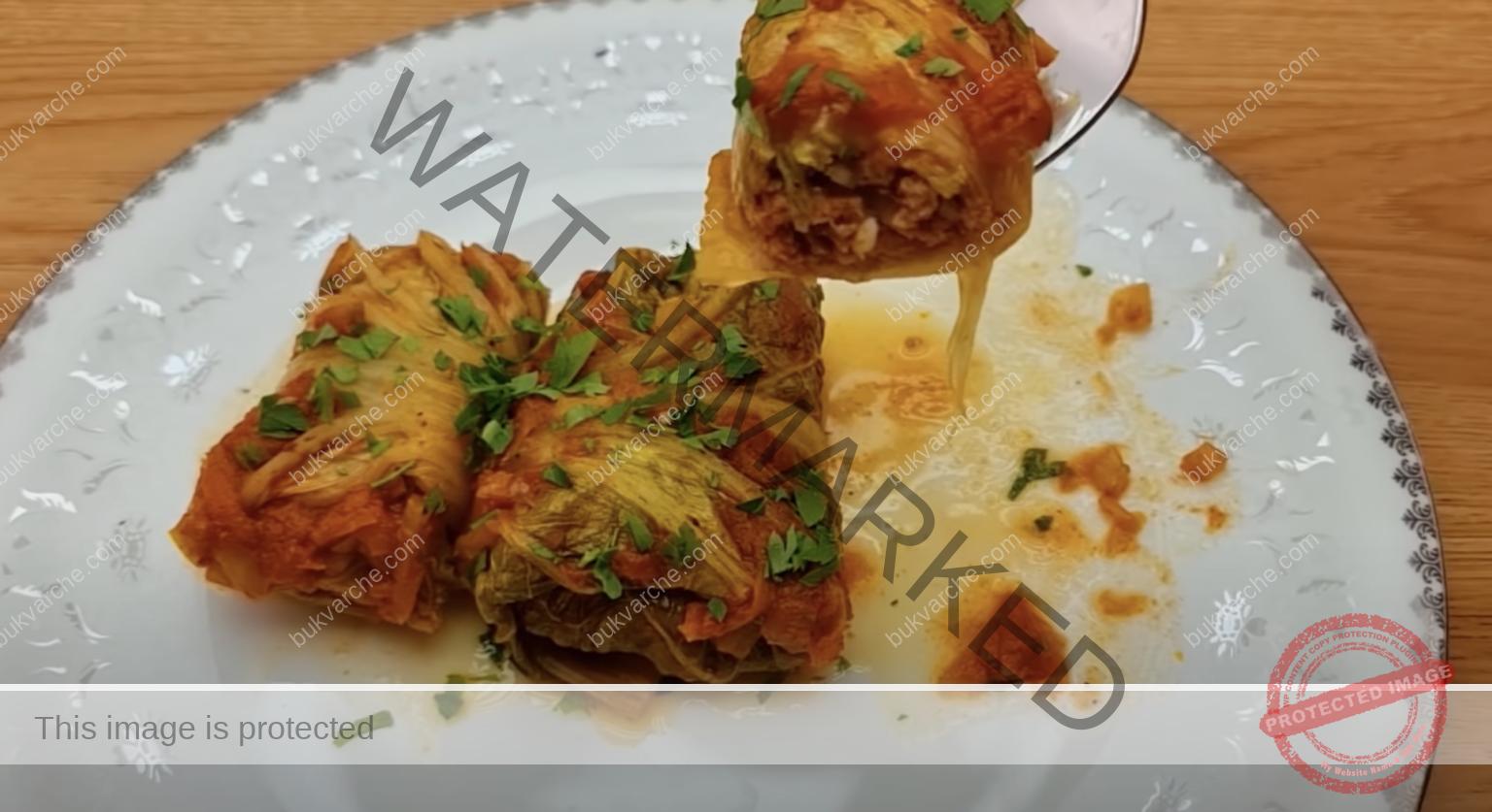 Сарми с китайско зеле - по-вкусни от класическите