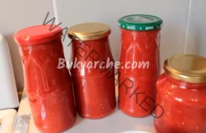 Домашен доматен сос за зимата - по-гъст от този от магазините