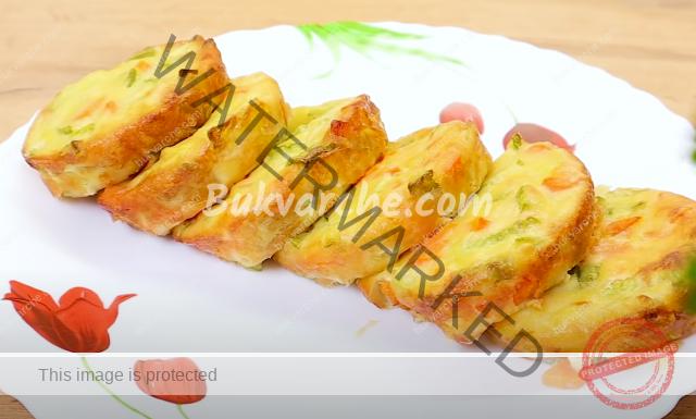 Мъфини с морков и тиквичка - лесно и здравословно ястие