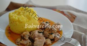 Пилешко месо с чесън на тиган - вкусно и бързо
