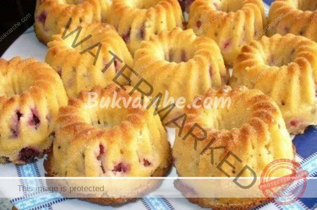 Плодови кексчета - любими на малки и големи. Рецепта