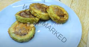 Пълнени тиквички на тиган - бързо и вкусно лятно ястие