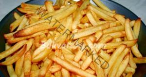 Пържени картофи без олио. Приготвят се бързо и лесно