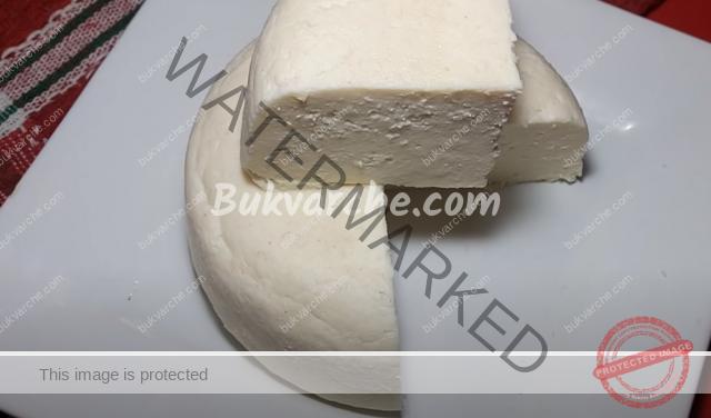 Как се прави сирене с оцет в домашни условия?