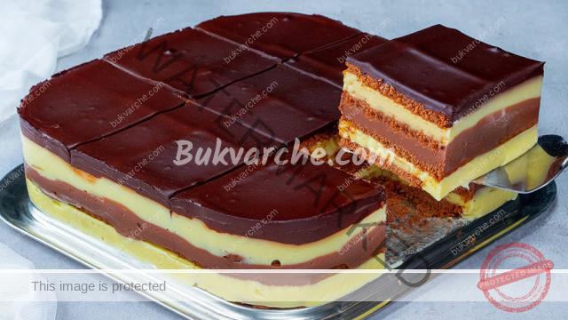 Торта с нутела и банани - бърз кремообразен десерт