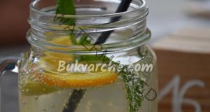 Джинджифилова напитка с лимон за отслабване