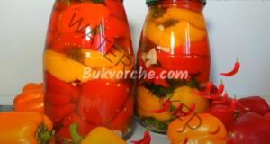 Рецепта за мариновани чушки - апетитни и ароматни