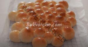 Хляб на топчета - несравним вкус и аромат. Прави се много бързо