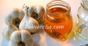 Еликсир на здравето с чесън и мед. Рецепта