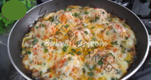 Закуска с яйца, гъби и чушка. Лесна и вкусна рецепта