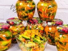 Краставички по корейски за зимата. Лесна рецепта