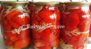 Медена туршия с домати в буркани. Лесно и вкусно