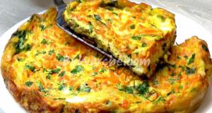 Рецепта с моркови, яйца и картофи за обяд